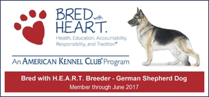AKC Bred With HEART Breeder
